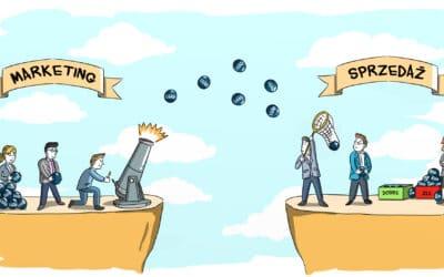 3 powody konfliktów między sprzedażą i marketingiem (i 3 rozwiązania) – okiem Łukasza Kosuniaka