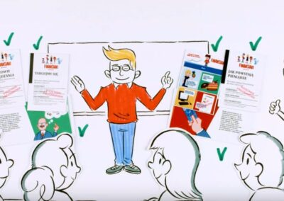 Whiteboard animation dla Santander Bank Polska